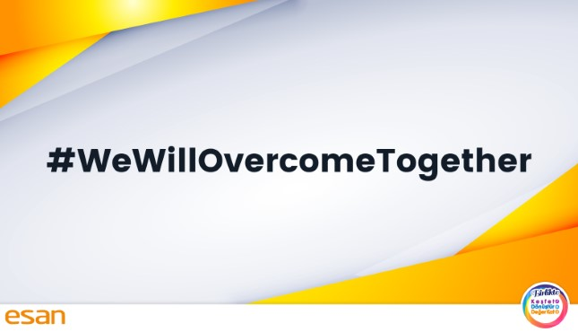 We Will Overcome COVID-19 Together